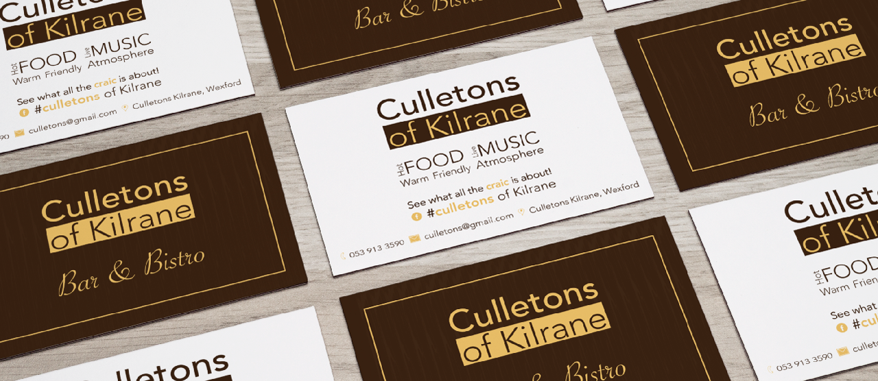 business cards | Graphic Design | The Design Girls