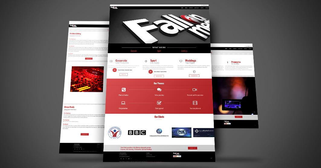 website Design - The Design Girls