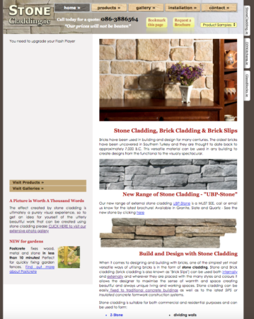 Website redesign - old to new